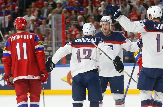 Момент игры США-Россия