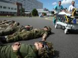 В Риге и Латгалии военные готовятся к происшествию с большим количеством пострадавших