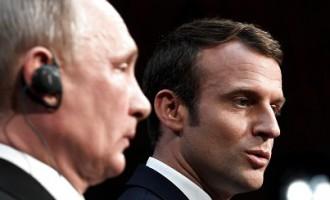 Макрон после встречи с Путиным: Готов ввести новые санкции против России