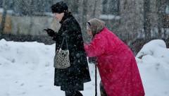 Федерация пенсионеров: продолжает расти число людей, живущих за чертой бедности