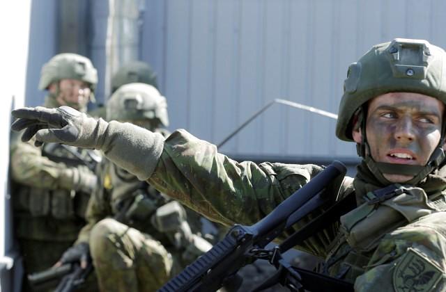 ВЛитву прибыл норвежский контингент НАТО