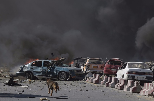 Посольство Турции повреждено при взрыве вКабуле