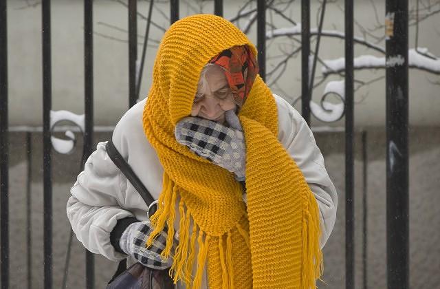 ВПетербурге 2июня насмерть замерзла женщина