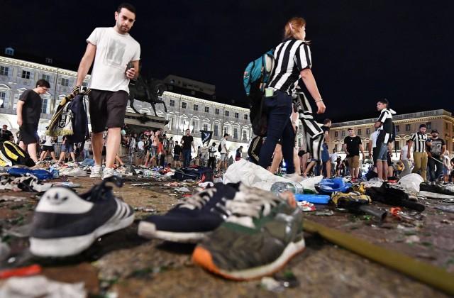 Несколько болельщиков «Ювентуса» пострадали вдавке вТурине
