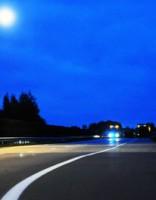 На Елгавском шоссе зафиксирован новый антирекорд скорости
