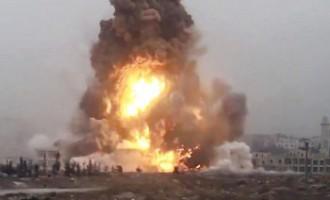 Видео: Россия нанесла массированный ракетный удар по боевикам ИГИЛ