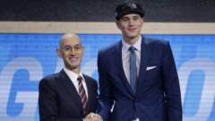 Латвийского баскетболиста Пасечника выбрали на драфте НБА