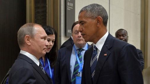 The Washington Post узнала о конфликте между Путиным и Обамой