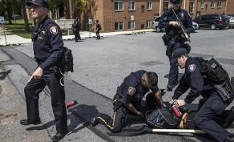 В Германии в массовой драке с 150 участниками пострадали 15 полицейских