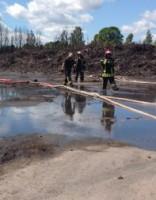 На вывоз отходов со сгоревшей свалки в Юрмале выделено 700 000 евро