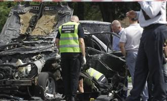 В результате теракта в Киеве погиб сотрудник Главного управления разведки