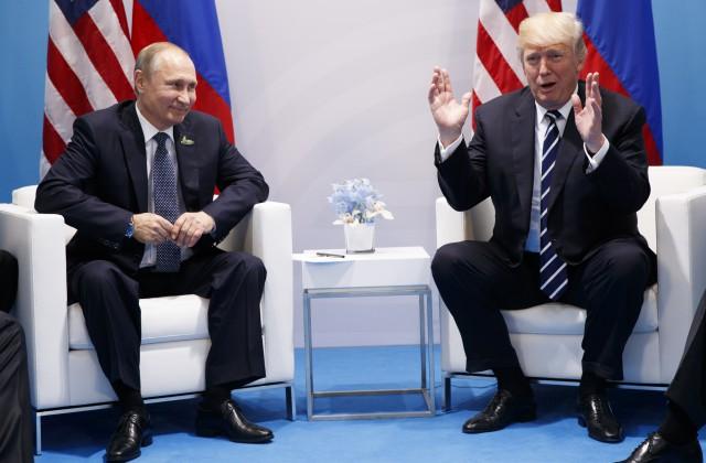 Путин— Трампу: «Рад знакомству инадеюсь нарезультат»