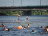 Температура воды в реках и озерах превысила отметку в +20 градусов