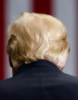 Женщина со странными бровями затмила выступление Трампа