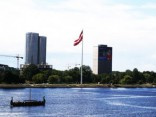 В канале Зундас обнаружено пятно нефтепродуктов площадью 200 кв. метров