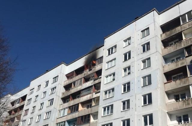 Опасный пожар в Межциемсе локализован