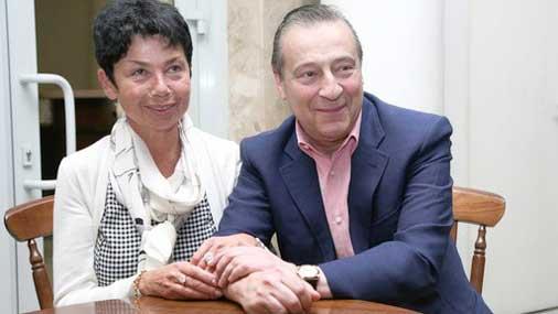 Геннадий хазанов и его супруга злата