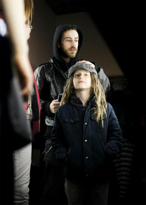 Кирилл с сыном Тони