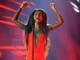 Латвийская певица Амината в финале «Евовидения»!