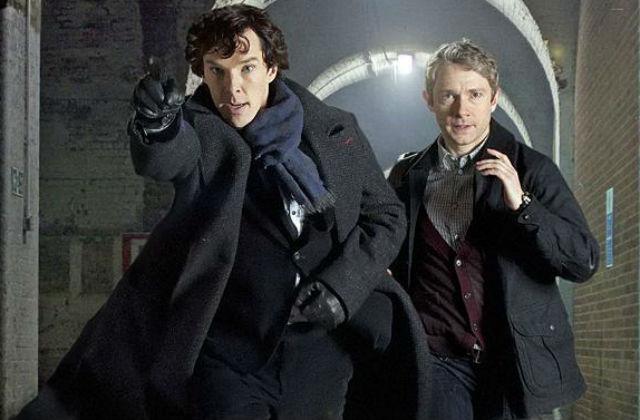 Новый сезон сериала «Шерлок» выйдет в январе 2017 года