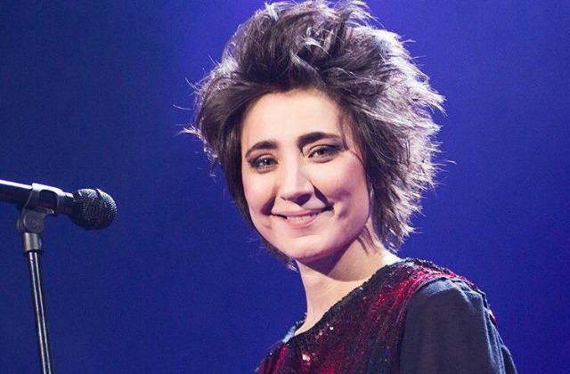 Земфире— 40: Поклонники выстроились вживой портрет эстрадной певицы