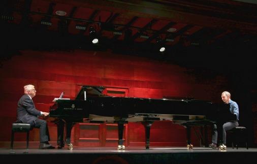 Дуэт роялей от Steinway & Son