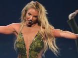 Бритни Спирс на концерте осталась без бюстгальтера