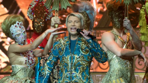 Николай Басков устроил в Риге грандиозное шоу