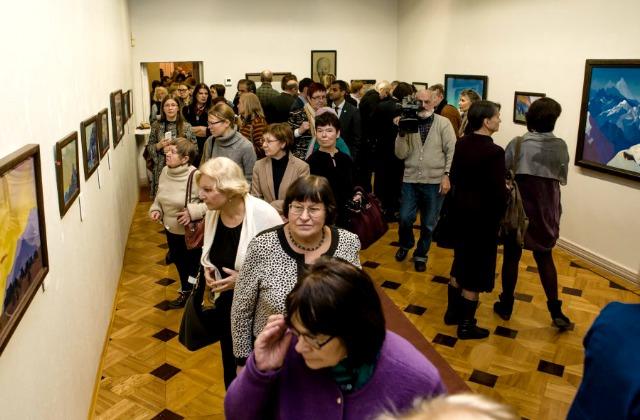 Открытие выставки «Николай Рерих и Латвия» в Вильнюсе