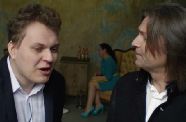 Дмитрий Маликов зачитал рэп с видеоблогером