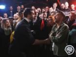 Ургант спародировал популярного российского рэпера и устроил рэп-дуэль со Шнуровым