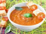 Суп-пюре из кабачков и помидоров