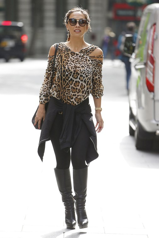 Певица, пианист, модель и актриса Майлин Класс в Лондоне