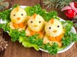 Новогодняя закуска «Цыплята»