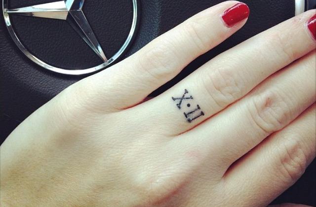 Тренд - символ вечной любви: тату вместо обручального кольца