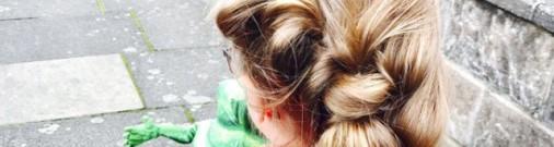 Отец-одиночка делает невероятные прически своей 6-летней дочери
