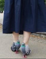 Туфли-голуби разлетелись по Сети: не хотите такие? Есть инструкция!