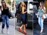 Уличный стиль красотки Вергары: от рваных джинсов до элегантного шика