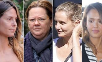 Как никогда обнаженные: знаменитости без макияжа - вот они какие
