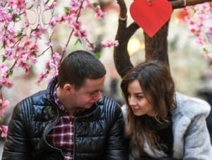 Мир отметил День Святого Валентина